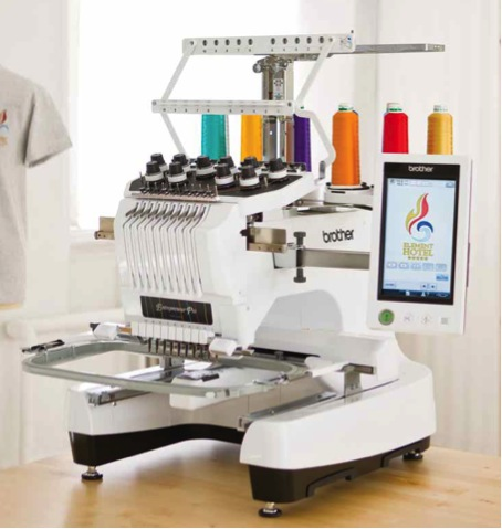 stickmaschine brother pr 1000e inkl sticksoftware. Black Bedroom Furniture Sets. Home Design Ideas
